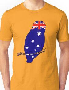Australian Flag - Owl Unisex T-Shirt