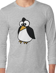 pingouin Penguin linux cartoon Long Sleeve T-Shirt