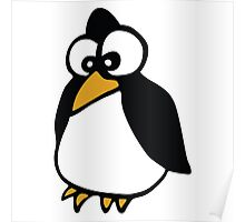 pingouin Penguin linux cartoon Poster