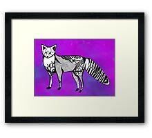 COSMIC FOX Framed Print