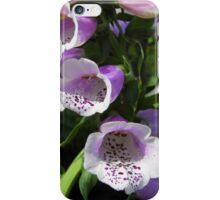 Foxglove iPhone Case/Skin