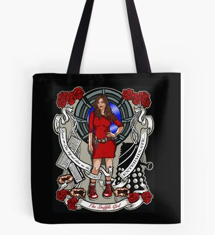 The Souffle Girl (pillow) Tote Bag