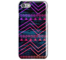 Pink Orange and Purple Tribal Pattern  iPhone Case/Skin