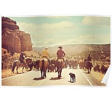 A Country Cattle Call Poster