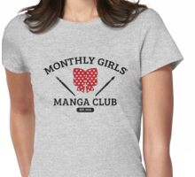 Monthly Girls' Manga Club Womens Fitted T-Shirt