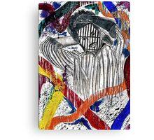 Society and Self Destruction  Canvas Print