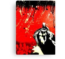 Dark Knight, Red Night Canvas Print