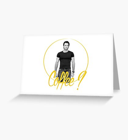 Luke Danes - Gilmore Girls Greeting Card