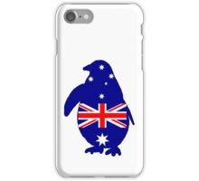 Australian Flag - Penguin iPhone Case/Skin