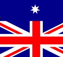 Australian Flag - Penguin Sticker