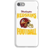 washington redskins football iPhone Case/Skin