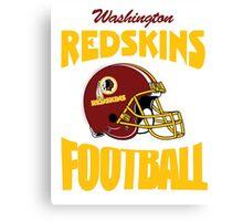 washington redskins football Canvas Print