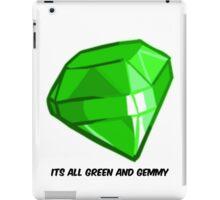 Battle block theater gem iPad Case/Skin