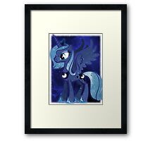 Cosmic Princess Luna (Version 3/4) Framed Print