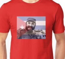 Fidel Castro, Cuban Flag Unisex T-Shirt