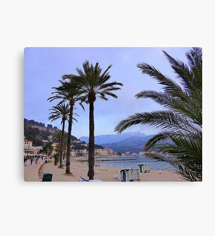 Evening Time In Port de Soller.................................Majorca Canvas Print