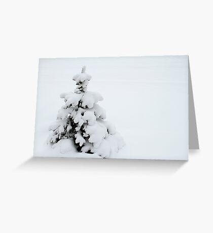 Blanket of Snow Greeting Card