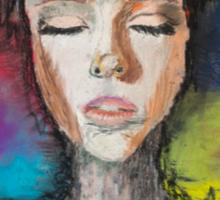Abstract Portrait Sticker