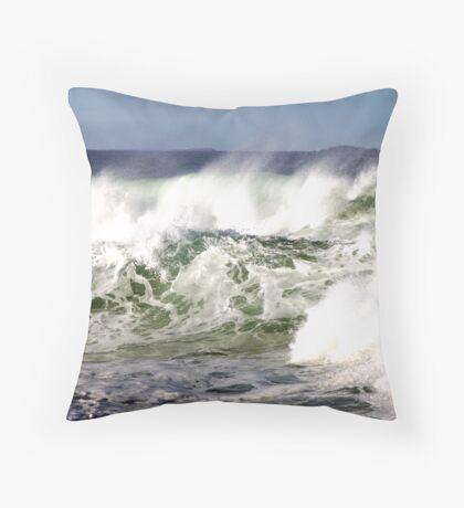 Rough Seas Throw Pillow