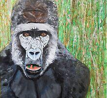 Gorilla by kelseyfritsch