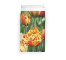 Curly Daffodils Duvet Cover
