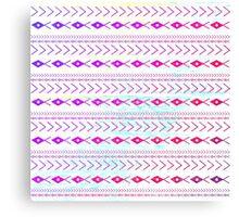 Pink Tribal Pattern Canvas Print