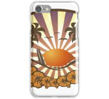 Paradise Surf Beach iPhone Case/Skin