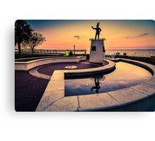 Ponce De Leon at Sunset Canvas Print