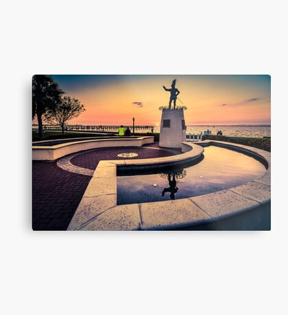 Ponce De Leon at Sunset Metal Print