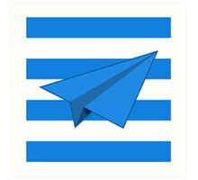 Paper Airplane 41 Art Print