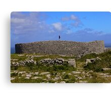 Dun Eochla Stone Fort - Inishmore Canvas Print