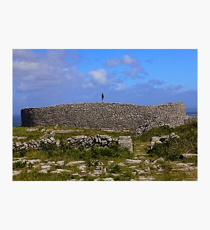 Dun Eochla Stone Fort - Inishmore Photographic Print