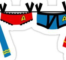 Trekkie Laundry Sticker