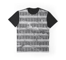 Black and white Tribal Pattern  Graphic T-Shirt