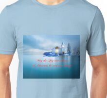 May the Joy & Peace of Christmas be with you always Unisex T-Shirt