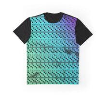 Green Square Tribal Pattern  Graphic T-Shirt