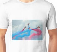 The Red Arrows Gypo Break - Dunsfold 2014 Unisex T-Shirt
