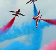 The Red Arrows Gypo Break - Dunsfold 2014 Sticker