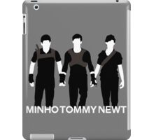 Newt Minho And Tommy iPad Case/Skin