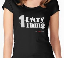 1 with Everything Women's Fitted Scoop T-Shirt