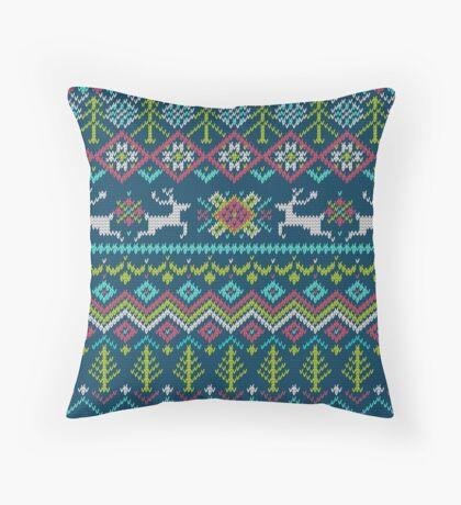Christmas Decorative Fabric Pattern Throw Pillow