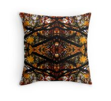 Autumnal Canopy Throw Pillow