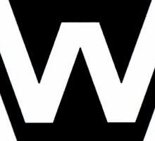 Westworld Logo Sticker