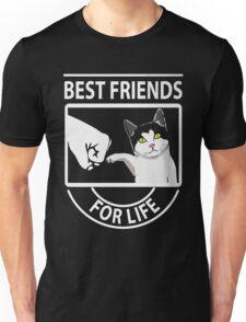 Cat best friends for life xmas shirt Unisex T-Shirt