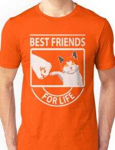 Cat best friends for life xmas shirt Unisex T-Shirt