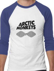 arctic monkeys - black shirt Men's Baseball ¾ T-Shirt