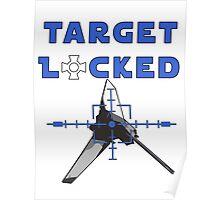 Target Locked Shuttle Poster