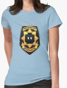 Bricksburg Police Womens Fitted T-Shirt
