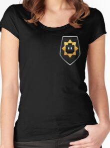 Bricksburg Police - Badge of Honor Women's Fitted Scoop T-Shirt