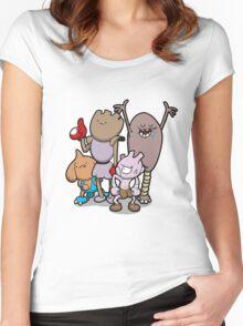 Little Asskickers Women's Fitted Scoop T-Shirt